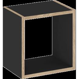TUTU BLACK Półka kwadratowa T9