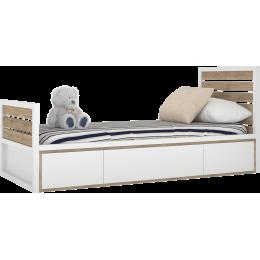 TUTU WHITE Łóżko T6