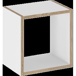 TUTU WHITE Półka kwadratowa T9