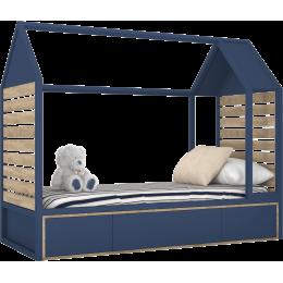 TUTU BLUE Łóżko domek T5